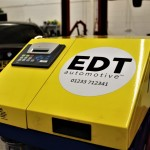 EDT's new automotive engine cleaning machinelo